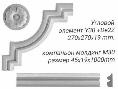 Угловой элемент Y30