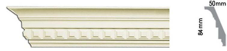плинтус потолочный для натяжного потолка