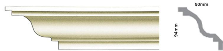 монтаж потолочного плинтуса из полиуретана